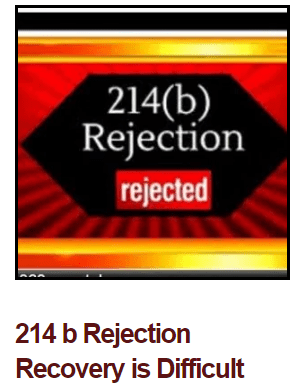 214 b Rejection Recovery Course