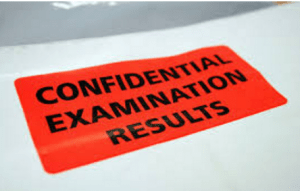 Confidential Examination Results