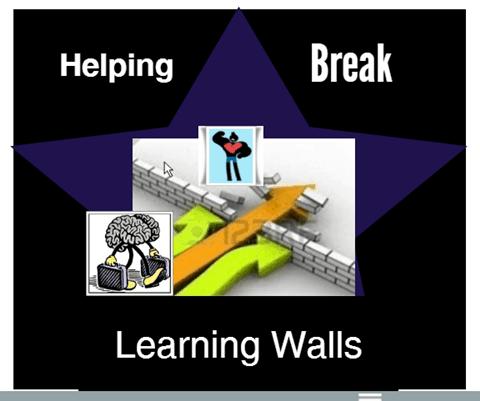 Help Break Learning Walls
