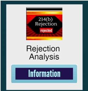 Rejection Analysis