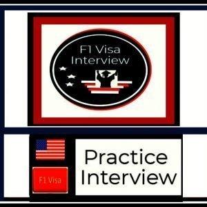 f1 visa practice interview course