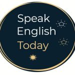 logo rounded speak english today