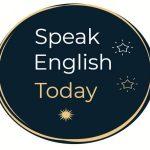 logo rounded speak english today
