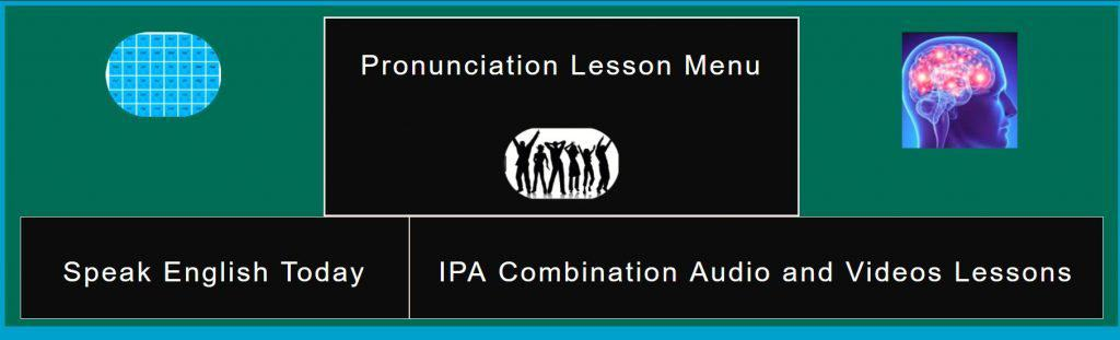 IPA Combination Sound audio and video lessons