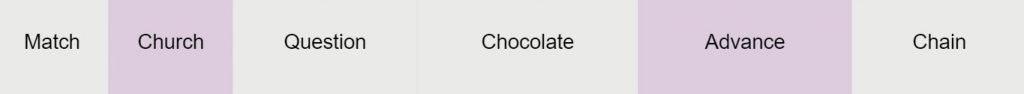 ch tʃ IPA sound Match church question chocolate chain