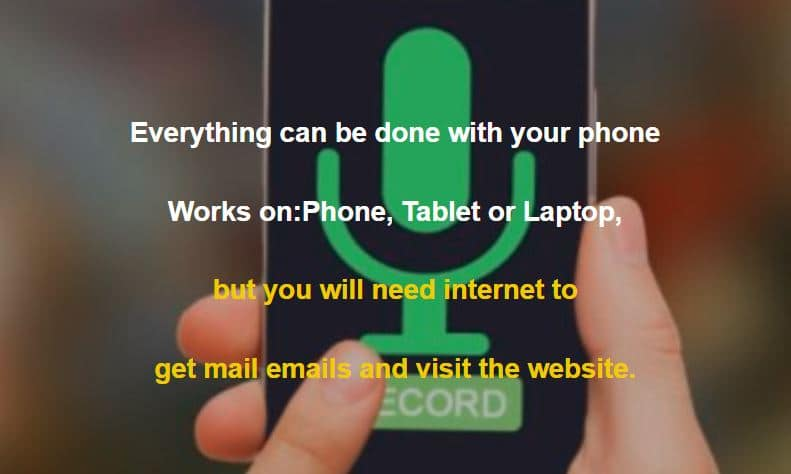 pic of smartphone everything can be done on your phone tablet or laptop