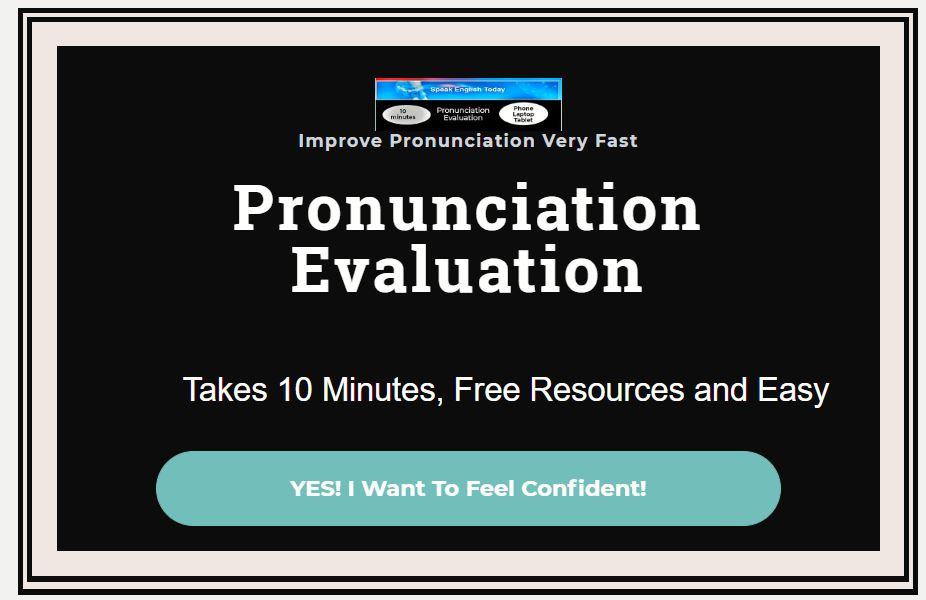 'Pronunciation