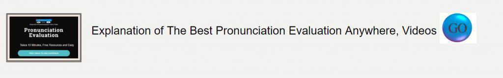 Pronunciation Evaluation Page Banner