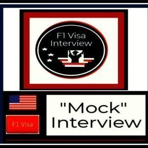 f1 visa mock interview