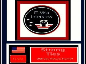 f1 visa strong ties