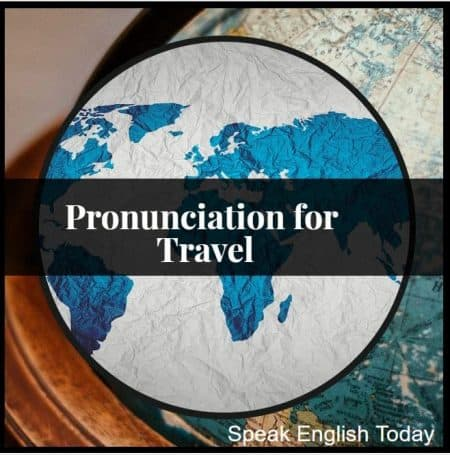 pronunciation for travel