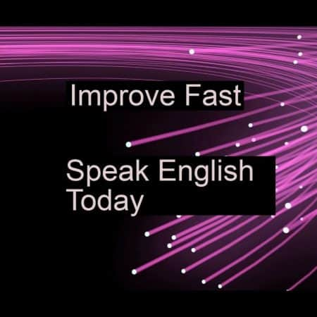 speakenglishtoday improve fast pink simple logo