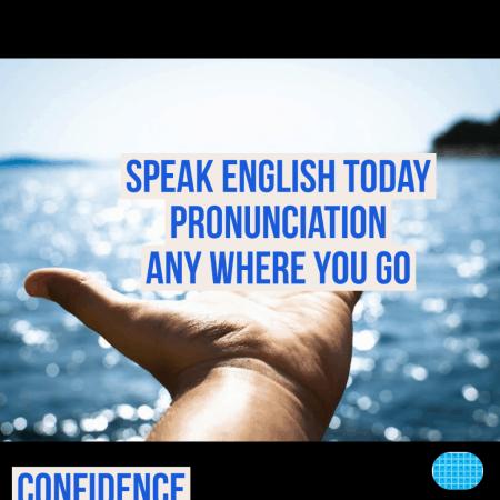 speakenglishtoday pronunciation any where you go logo