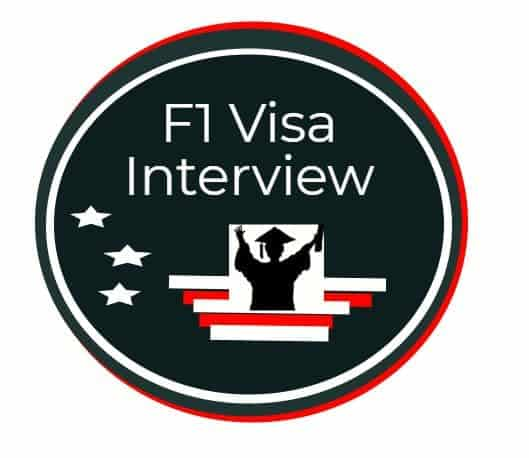 f1 visa interview logo