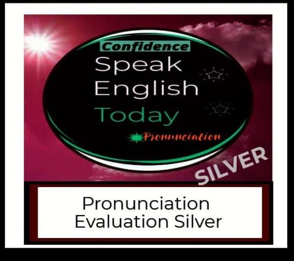 pronunciation evaluation silver