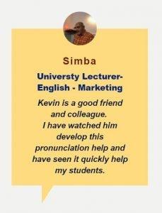 Simba testimonial box