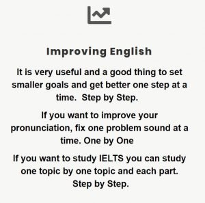 improving English step by step