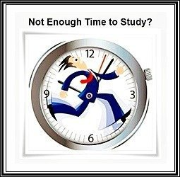 not enough time to study