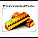 pronunciation gold package