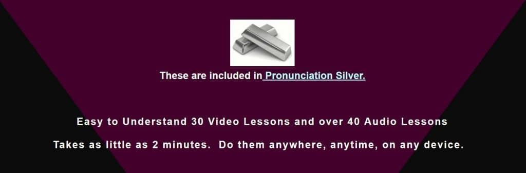pronunciation silver banner