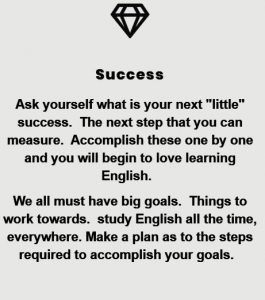 success learning English