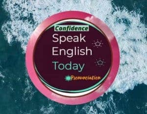 speak English today logo red with wave rolling over it