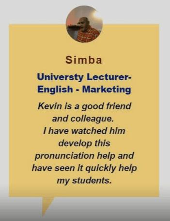 testimonial Simba